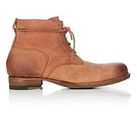 Peter Nappi Men's Leather Lace Up Ankle Boots Tan