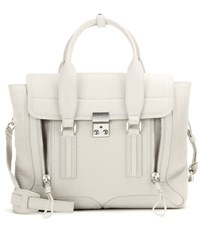 3.1 Phillip Lim Pashli Medium Leather Tote Grey