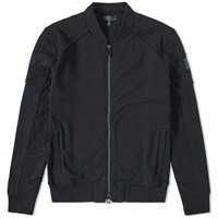 Belstaff Deveron Zip Bomber Sweat Black