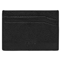 Reiss Adam Leather Card Holder Black