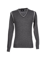 Dandg D And G Sweaters Steel Grey