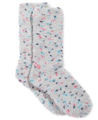 Charter Club Women's Speckle Butter Socks Only At Macy's Pastel Grey