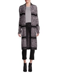Paige Joni Striped Wool Cardigan