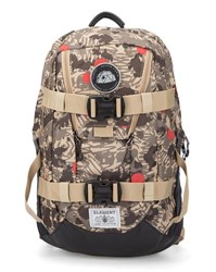 Element Khaki And Beige The Daily Canyon Pattern Backpack