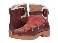 Nine West Orynne Cognac Natural Leather Women's Boots Brown