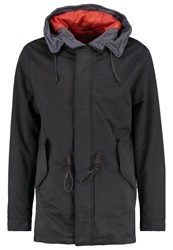 United Colors Of Benetton Parka Antracite Anthracite