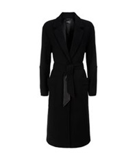 7 For All Mankind Duster Coat Black