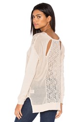 Heartloom Colette Sweater Beige