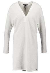 Maison Scotch Jersey Dress Antique White Melange Grey