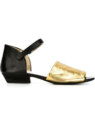 Marsa Ll Ankle Strap Sandals Black
