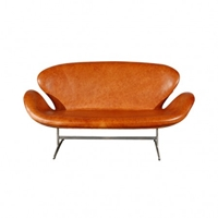 Swan Sofa In Elegance Leather Sofas Furniture Department The Conran Shop