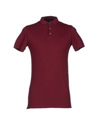 Marc By Marc Jacobs Topwear Polo Shirts Men Maroon