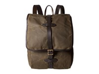 Filson Tin Cloth Backpack Otter Green 1 Backpack Bags