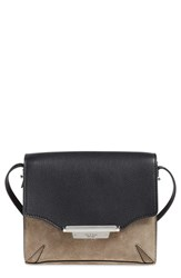 Rag And Bone Rag And Bone Suede And Leather Crossbody Bag
