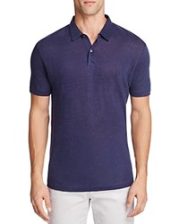 Theory Zephyr Bron Slim Fit Polo Shirt 100 Bloomingdale's Exclusive Eclipse