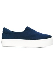 Opening Ceremony Platform Slip On Sneakers Blue