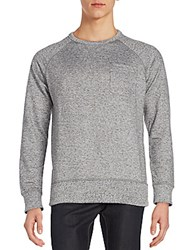 French Connection Big Sur Pocket Tee Charcoal
