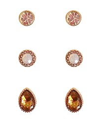 Cara Accessories Stud Earrings Set Of 3 Pairs Compare At 38 Lbkdictp