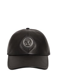 Versace Medusa Nappa Leather Baseball Hat