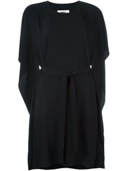 Maison Martin Margiela Mm6 Maison Margiela Loose Fit Belted Dress Black