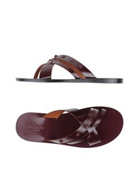 Valentino Garavani Footwear Sandals Men Black