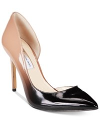 Inc International Concepts Women's Kenjay D'orsay Pointed Toe Pumps Only At Macy's Women's Shoes Nude Ombre
