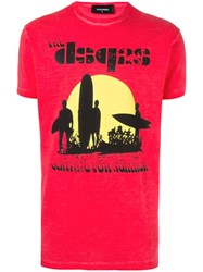 Dsquared2 Surfer Sunset T Shirt