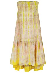 Rachel Comey Multi Tie Dye Vance Dress Pink