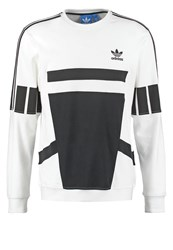 Adidas Originals Long Sleeved Top White Black