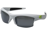 Kaenon S Kore Matte White Green Logo Fashion Sunglasses Gray