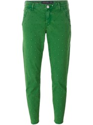 Jacob Cohen Cropped Jeans Green