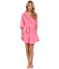 Betsey Johnson Vintage Terry Robe Pink Flirt Women's Robe