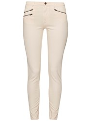 French Connection Lily Denim Super Skinny Jeans Apricot Spritz