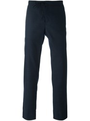 Maison Martin Margiela Drawstring Trousers Blue