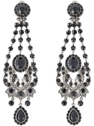 Givenchy Victorian Chandelier Earrings Metallic
