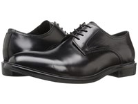 Kenneth Cole 4 The Record Black Men's Lace Up Cap Toe Shoes