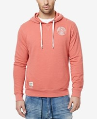Buffalo David Bitton Men's Fixing Graphic Print Logo Hoodie Watermelon