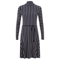 Designers Remix Women's Carrie Dress Navy White Blue