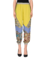 Just Cavalli Trousers Casual Trousers Women Yellow