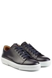 A.P.C. Leather Sneakers Black