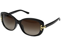 Tory Burch 0Ty7090a Black Dark Brown Gradient Fashion Sunglasses
