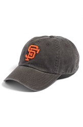 American Needle Women's 'New Raglan San Francisco Giants' Baseball Cap Blue Black