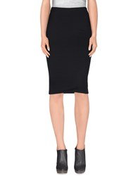 Terre Alte Skirts Knee Length Skirts Women Black