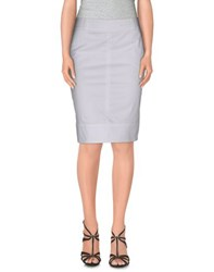 Paul And Shark Skirts Knee Length Skirts Women White