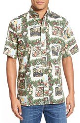 Men's Reyn Spooner 'Hawaiian Christmas' Classic Fit Wrinkle Free Sport Shirt
