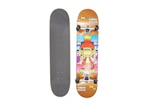 Blind Looney Monkey Complete Bronze Skateboards Sports Equipment