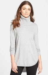 Chelsea 28 Women's Chelsea28 Turtleneck Sweater Grey Heather