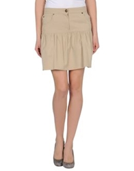 Iceberg Mini Skirts Sand