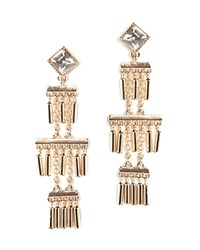 Juliet And Company Lark Drop Earrings Compare At 58 Gold Crystal