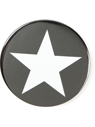 Givenchy Star Pin Badge Black